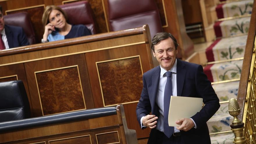 """Rafael Hernando carga contra Grande-Marlaska: """"Un personaje así no debería ser ministro de nada"""""""