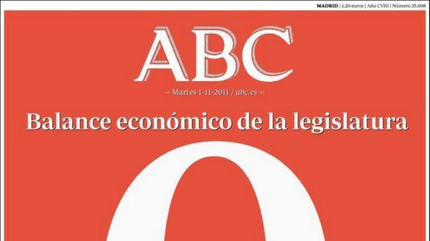 De las portadas del día (1/11/2011) #6