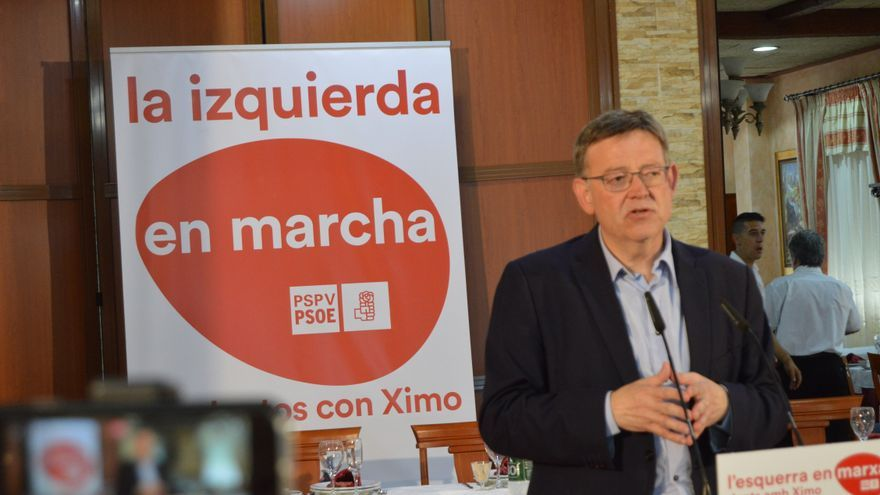 Ximo Puig promete crear la Secretaría de la Militancia en el PSPV en un encuentro con las bases de la Vega Baja.