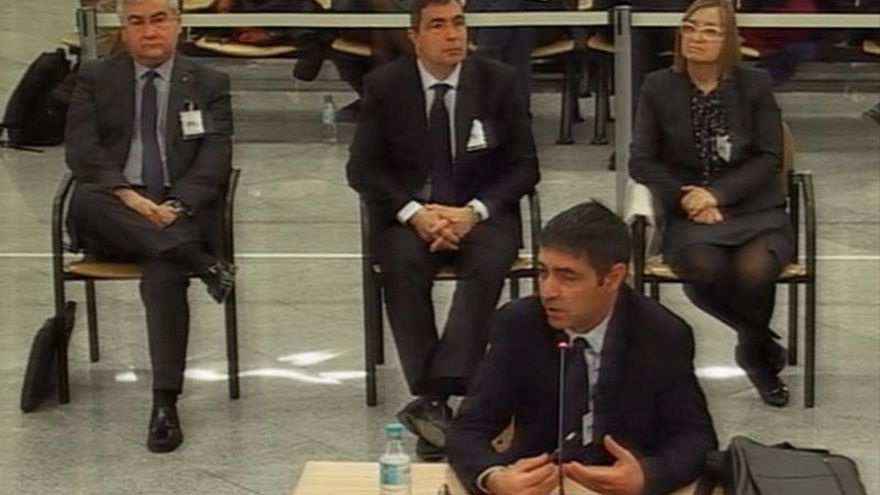 Trapero admite que informaba a Interior de los planes de Fiscalía contra 1-O