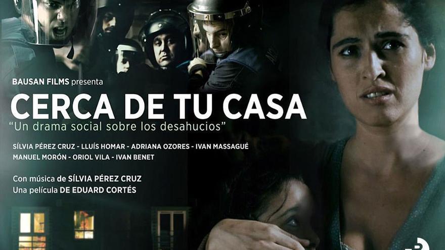 Cartel promocional de la película musical 'Cerca de tu casa'. (cercadetucasa.org).