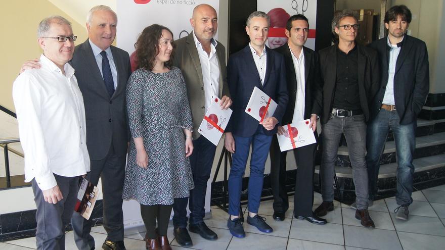 Imagen de la presentación del Festival Interncaional DocsValència