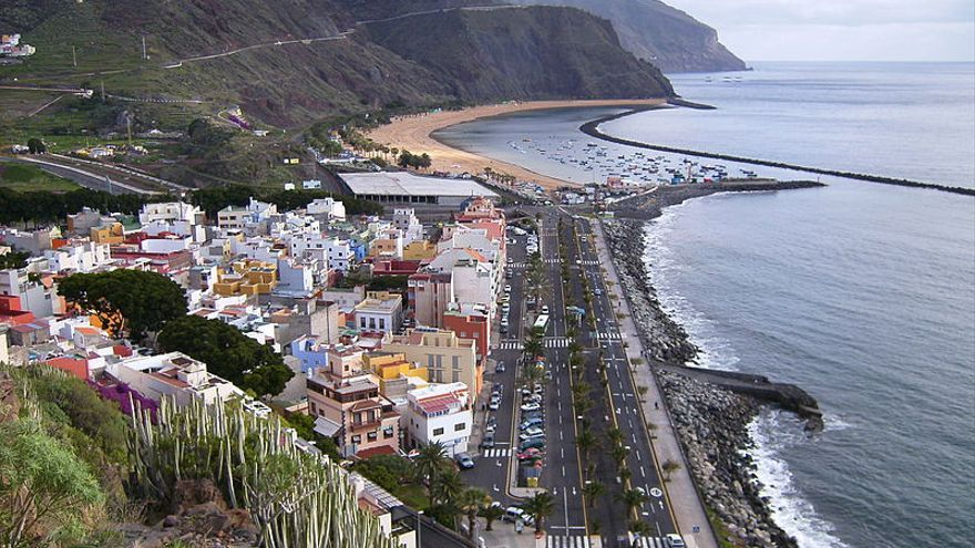 Avenida Marítima de San Andrés, Santa Cruz de Tenerife.
