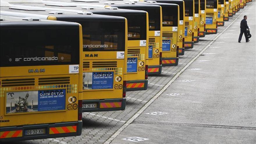 Suprimidos el 70 % de los autobuses urbanos en Lisboa por una huelga