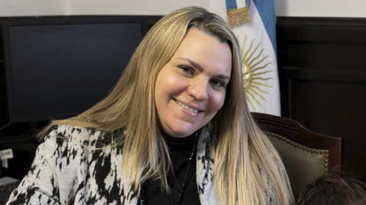 La senadora de la provincia de Buenos Aires Lorena Petrovich integra el bloque de Juntos por el Cambio.