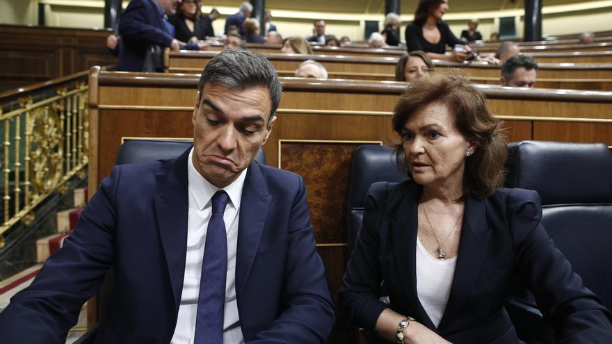 """Sánchez defiende la """"técnica parlamentaria"""" de eludir el veto al techo de gasto con otra ley: """"Es legal"""""""