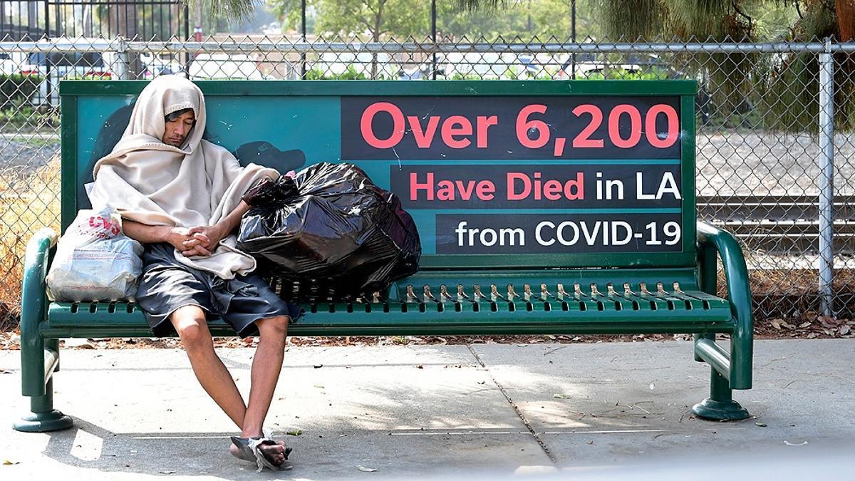 El número de personas sin techo en Estados Unidos ya había aumentado considerablemente antes de que estallara la pandemia de coronavirus.