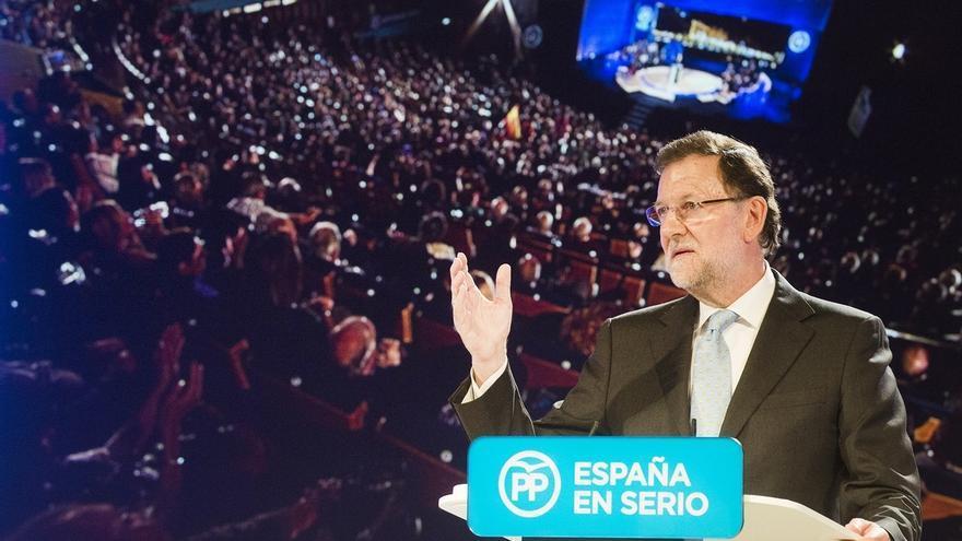 El candidato del PP, Mariano Rajoy.
