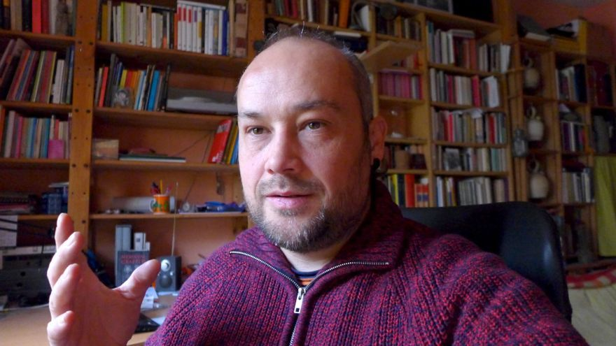 Iván Aparicio García, presidente de la Asociación Soriana Recuerdo y Dignidad