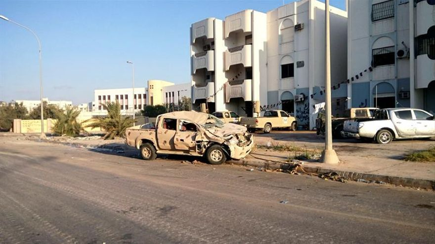 Nuevos combates en Sirte, seis meses después de la expulsión del EI