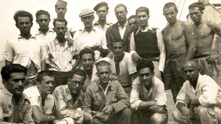 Presos en Canarias durante el Franquismo.