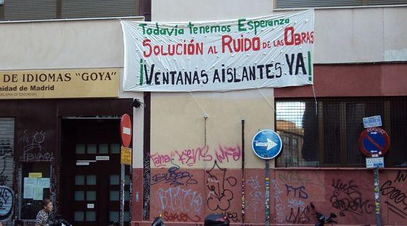 Entrada de la Escuela de Idiomas   Foto: A.P