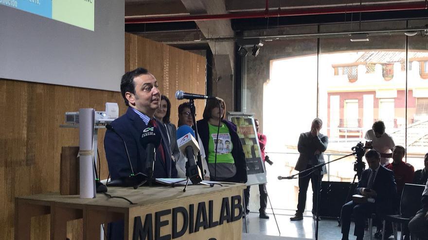 El premio fue recogido por el director general de Doble Diez Canarias, Santi Falcón Ravelo.