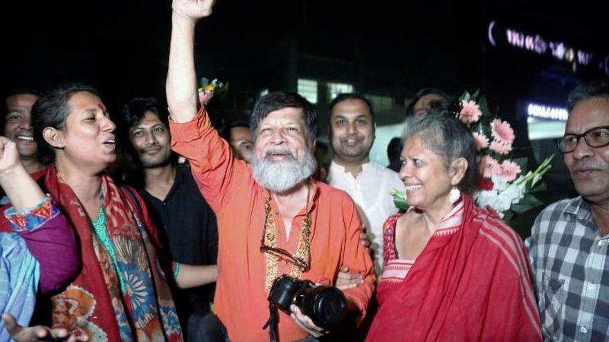En libertad el fotógrafo bangladeshí Shahidul Alam tras 3 meses en prisión