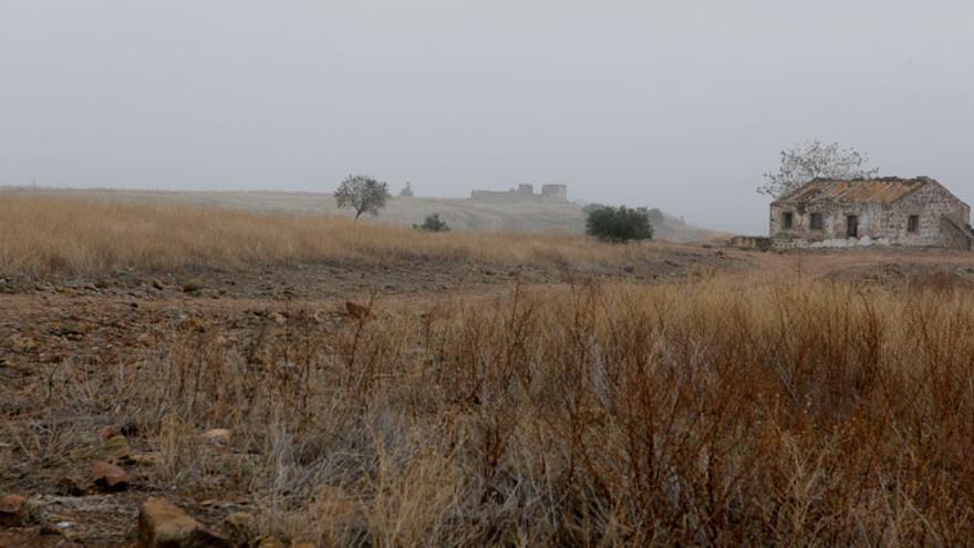 Vista general del yacimiento de Cástulo, en Linares.