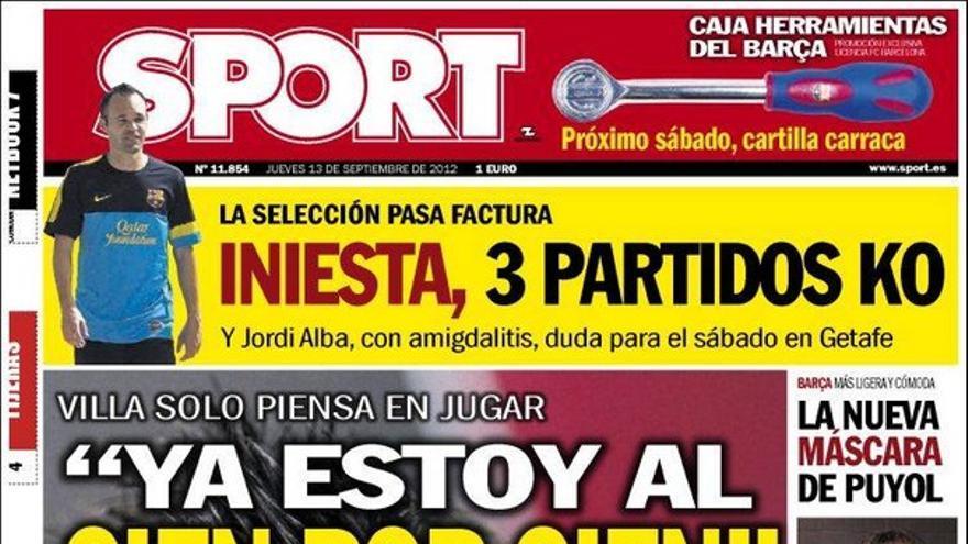 De las portadas del día (13/09/2012) #15