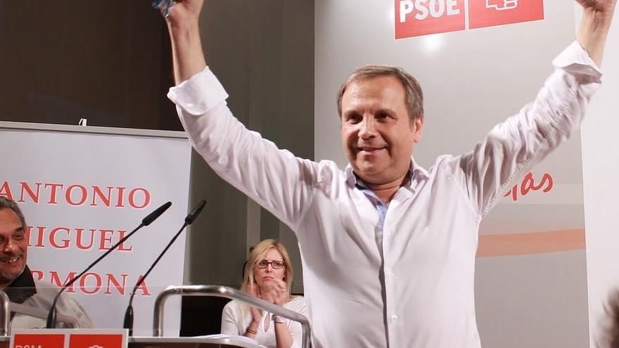 """Carmona dice que le gusta el 'tándem' electoral con Tomás Gómez, """"el próximo presidente de la Comunidad"""