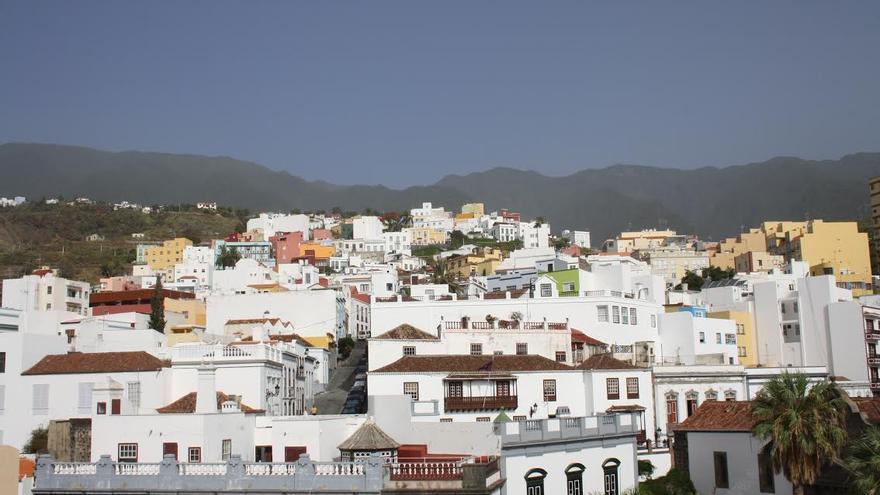 Panorámica de Santa Cruz de La Palma.