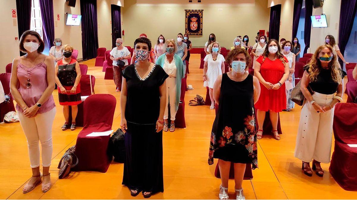 Jornada celebrada en la Diputación con colectivos de mujeres.