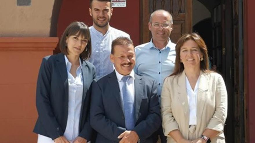 Grupo de Gobierno de CC en Fuencaliente.