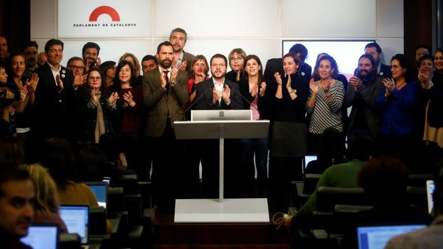 ERC pide la puesta en libertad inmediata de Junqueras y nulidad de la condena