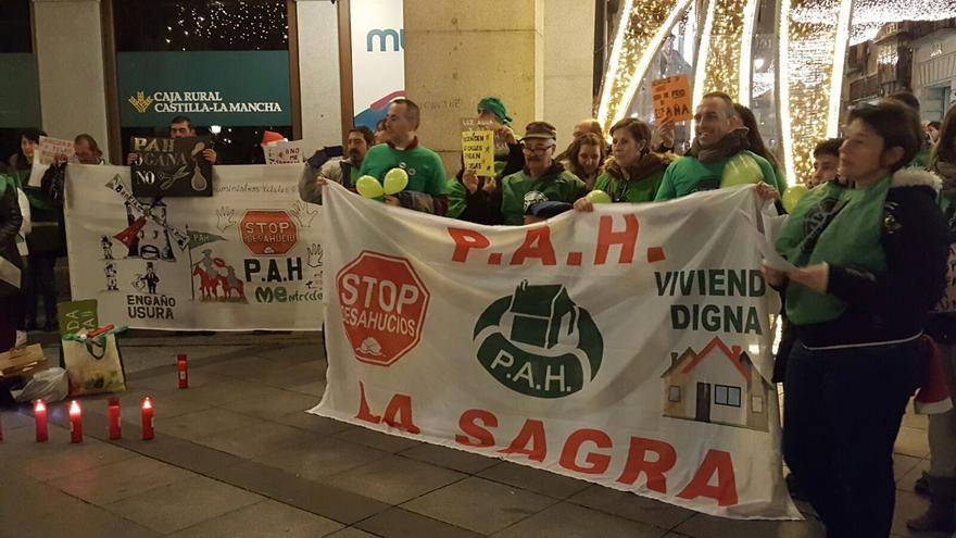Concentración en Toledo de las PAH contra el corte de suministros básicos