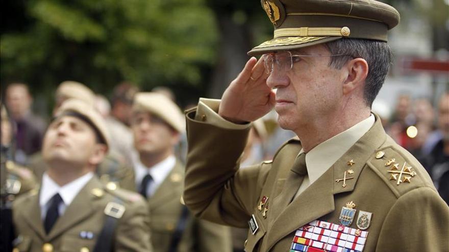 """El JEME afirma que """"a todos nos duele España"""", en referencia a la situación en Cataluña"""
