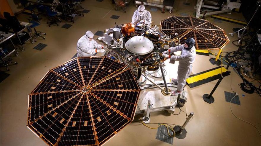 La NASA pospone por problemas técnicos el lanzamiento de su próxima misión a Marte