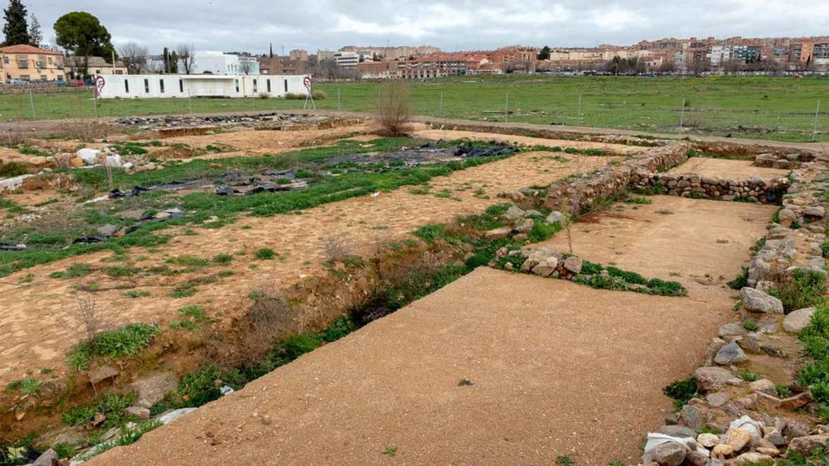 Restos arqueológicos de Vega Baja (Toledo)