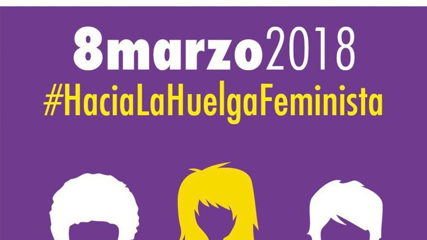Cartel de la huelga feminista