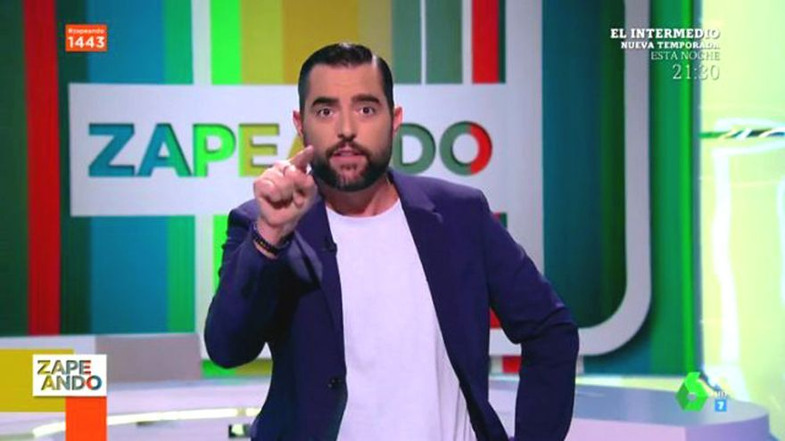 Dani Mateo (6.8%) gana el nuevo pulso de las sobremesas a Risto Mejide (4.7% y 5.2%)