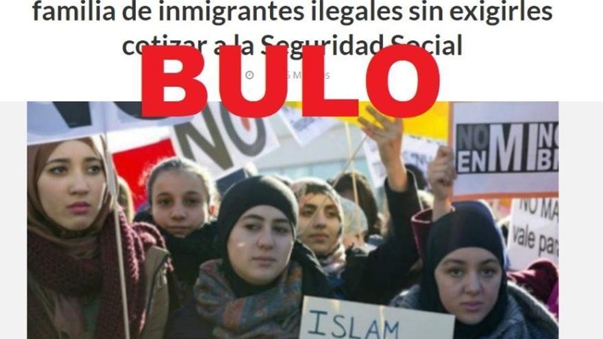 """No, Cataluña no dará """"hasta 14.292€ al año a cada familia de inmigrantes ilegales sin exigirles cotizar a la Seguridad Social"""""""
