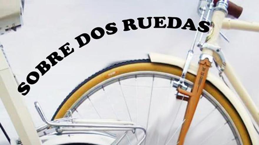 Cartel de la muestra 'Sobre dos ruedas'