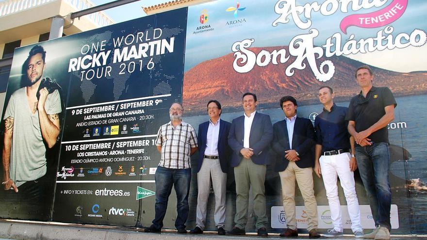 Acto de presentación del festival Arona Son Atlántico 2016