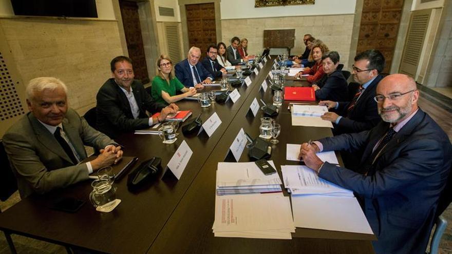 Arranca la primera reunión de la bilateral Estado-Generalitat desde 2011