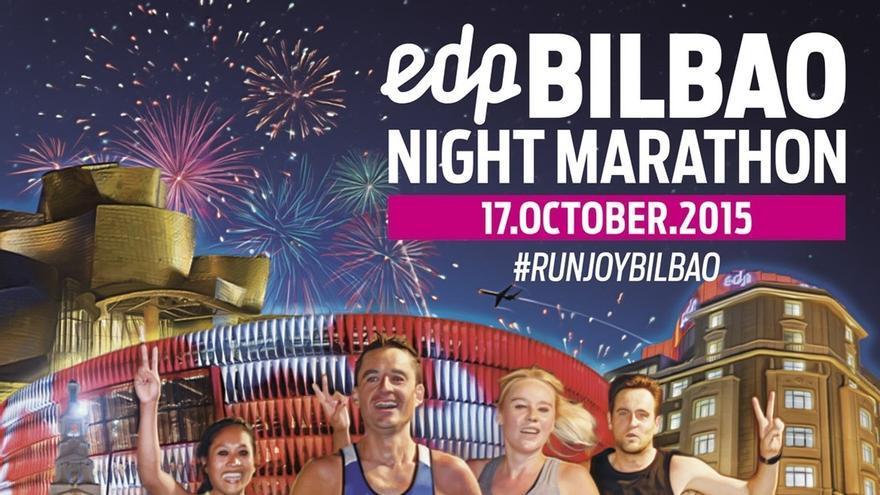 EDP será el patrocinador oficial del EDP Bilbao Night Marathon