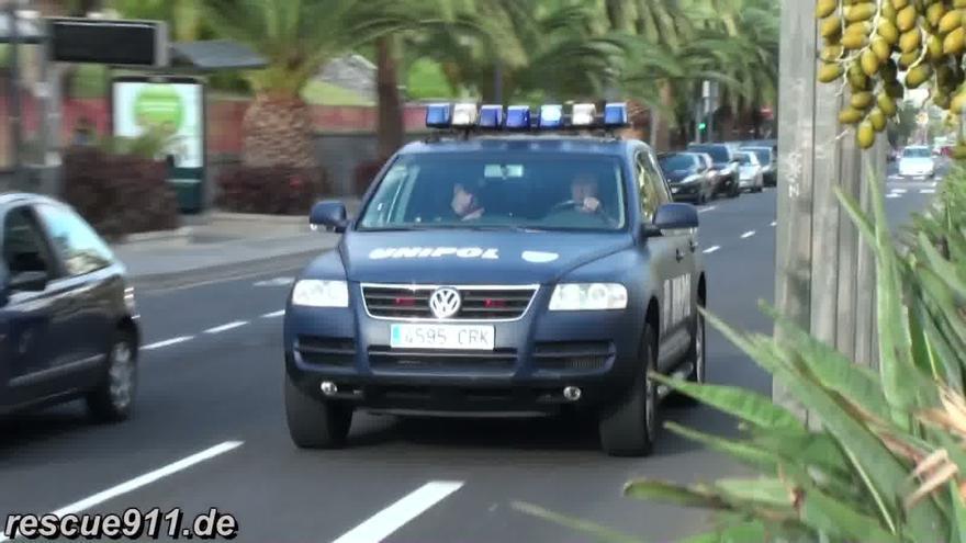 Vehículo de la Unipol