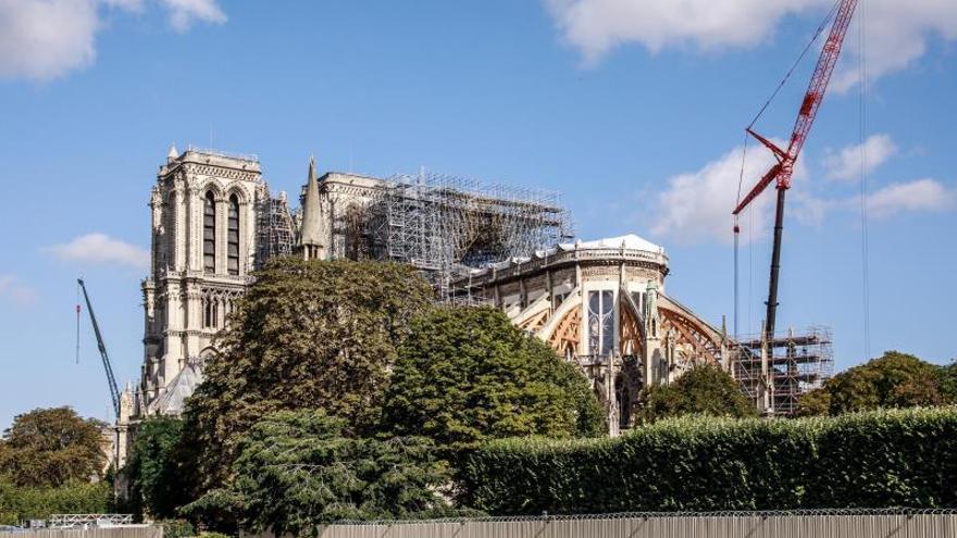 Obras en Notre Dame