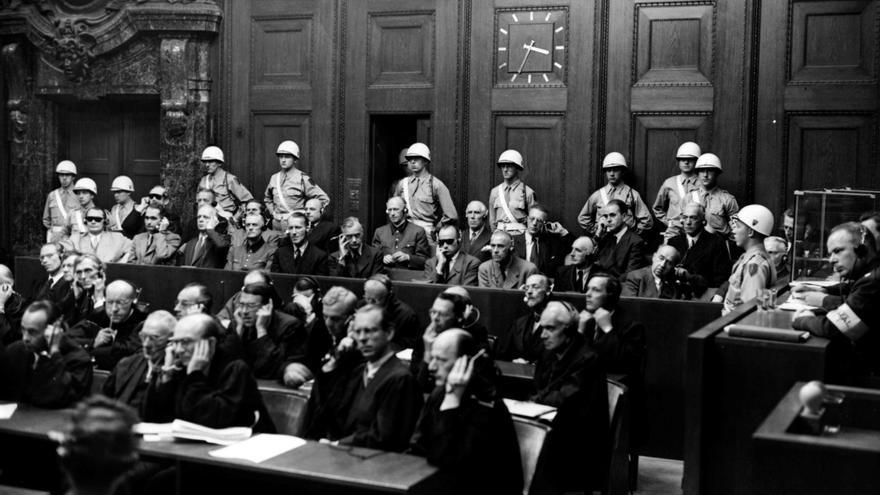 Los juicios del Núremberg, el comienzo del recuerdo en medio del desastre