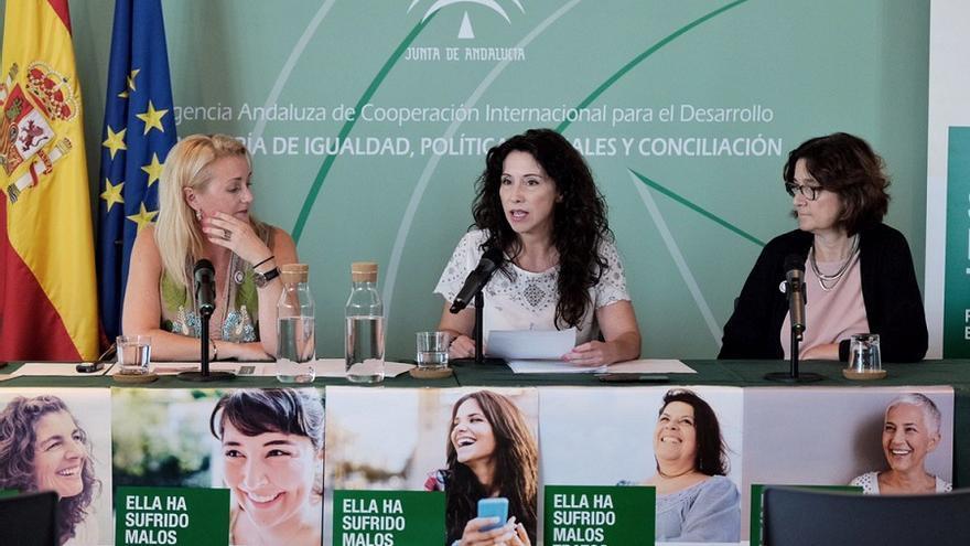 La consejera andaluza de Igualdad, Rocío Ruiz, presentó la campaña el pasado 29 de enero.