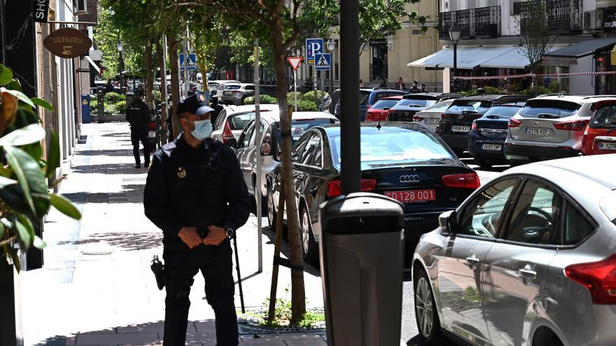 Heridos un policía y el empleado de una joyería durante un atraco en Madrid
