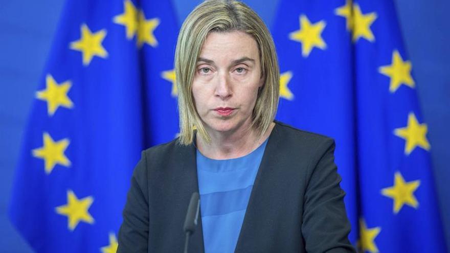 Mogherini visitará México y Colombia la próxima semana
