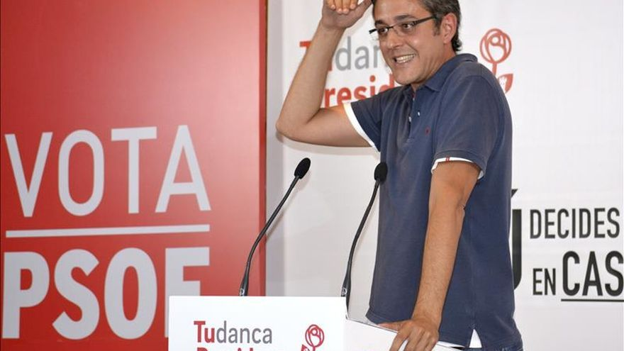 "Madina: ""El proyecto del PSOE no nació en un plató ni morirá en un plató"""