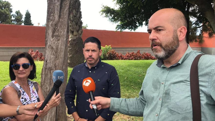 El alcalde de Telde traslada su pésame a la familia del niño que fallecido en las Fiestas de San Juan