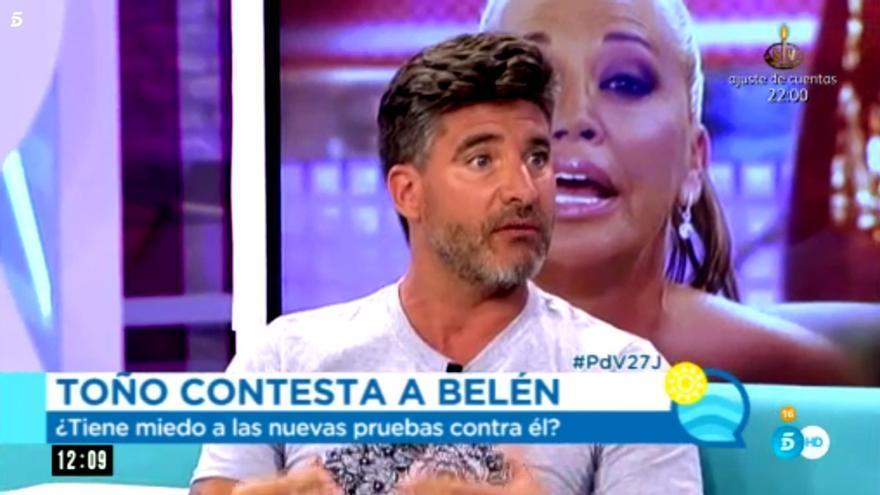 Toño Sanchís en El programa de verano