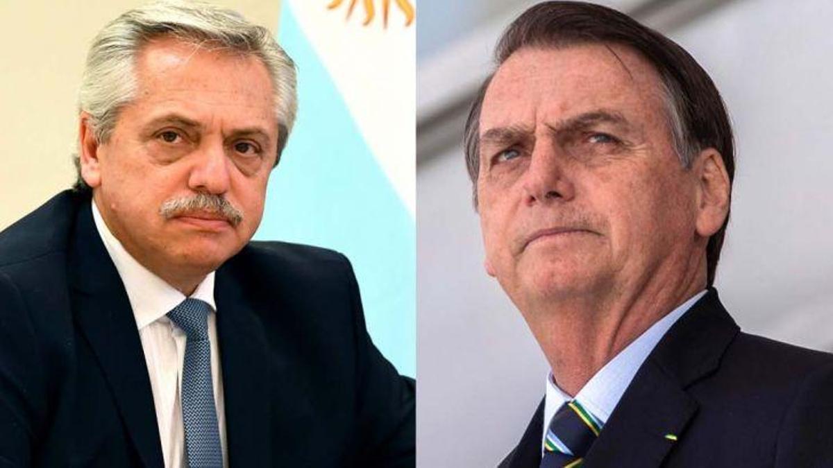 Bolsonaro chicaneó a Alberto Fernández