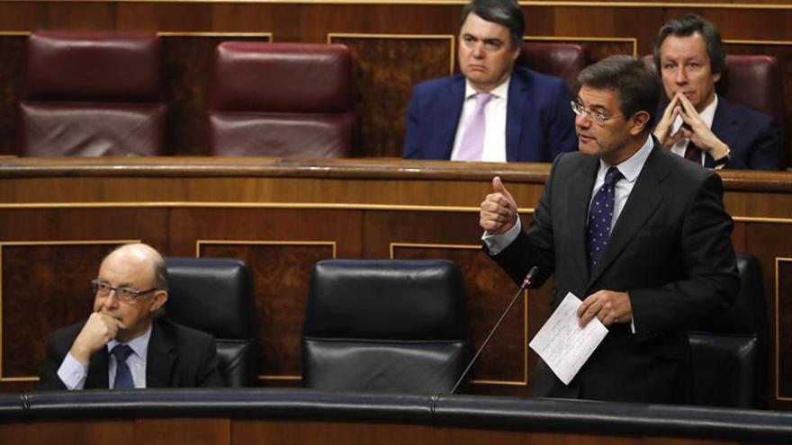 Catalá responde hoy en el Congreso sobre las supuestas presiones a fiscales