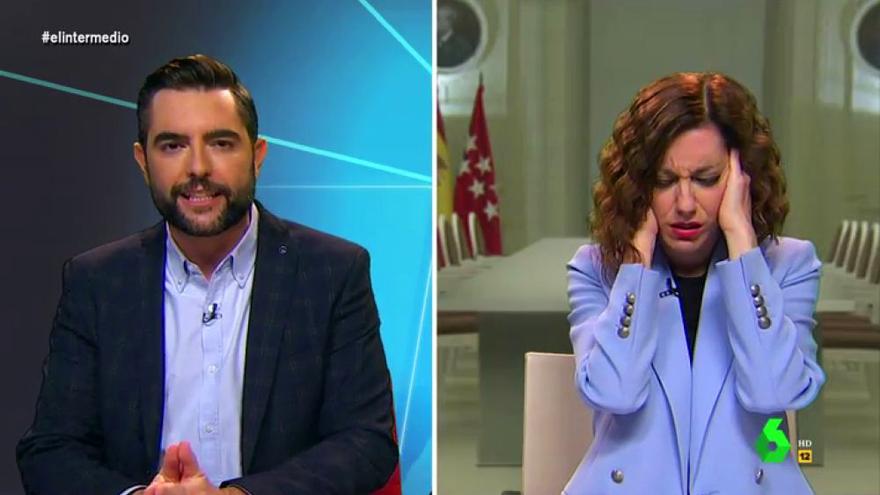 Dani Mateo y Cristina Gallego, en 'El Intermedio'