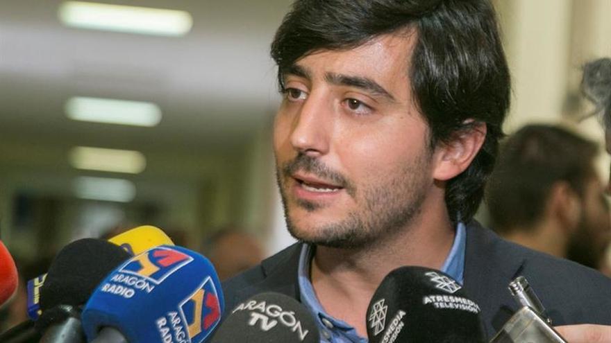El portavoz de Economía de Ciudadanos, Toni Roldán