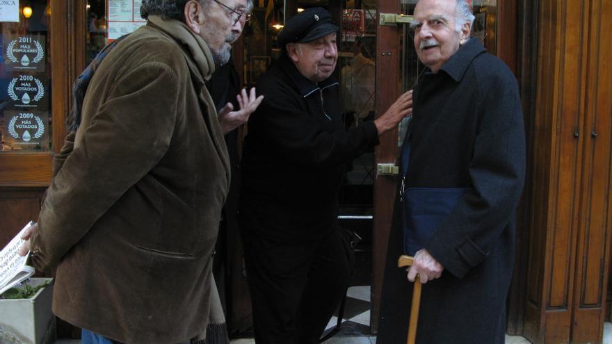 Una de las últimas fotos de Rogelio García Lupo